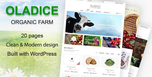 Oladice WordPress Theme free download