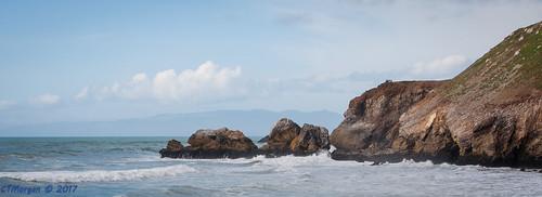 pacifica california unitedstates californiacoast surf rocks waves breakers