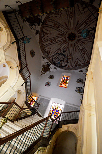 Murcia Palacio Episcopal Staircase