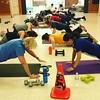 Getting down to business.   Accountability - Motivation - Results . . .  www.BodyBusterFitness.com  #Toronto #Etobicoke #Mississauga #PortCredit #HighPark #BodyBusted #BootcampReaults #BodyBusterFitness #BodyBuster #BodyBusterBootcamp  #FitnessBootcamp #B