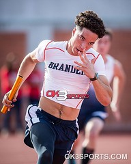Brandeis' Miles Puller during the North East Texas relays #ok3sports #sportsphotography #trackandfield