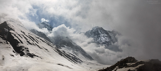 Clouds near Annapurna
