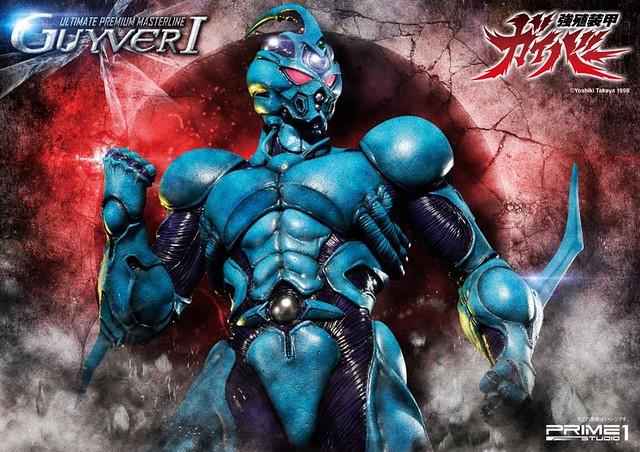 最強戰力大魄力呈現!Prime 1 Studio 《強殖裝甲》卡巴Ⅰ 強殖装甲ガイバー ガイバー I 普通版 /  終極版