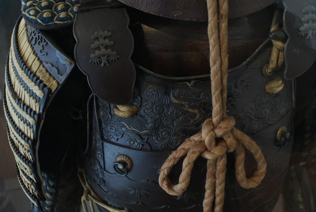 Armure samourai du musée d'art asiatique de Gênes.