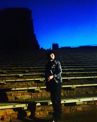 #daisukemizouchi #myfriend #redrocks #fourtyfour #paganamous #denvercolorado #nighttime