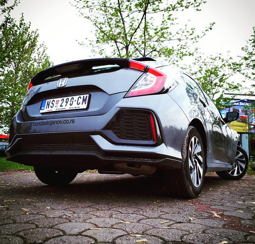 First Test Drive - New #Honda #Civic by @akstojanov & @honda_srbija  #novisad