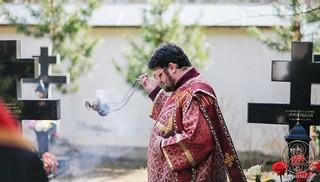 Литургия в Хутынском монастыре 380