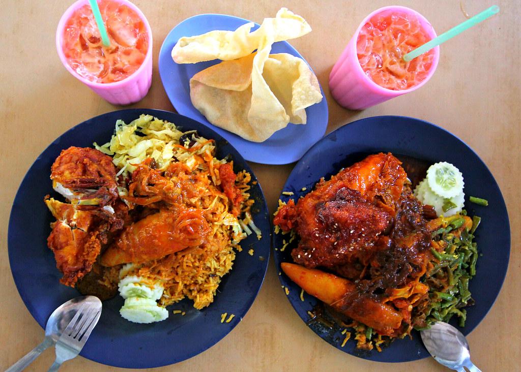line-clear-nasi-kandar-food