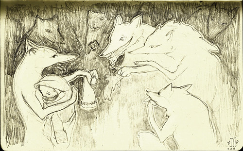 Lycanthropy/ Kidnapped by foxes.