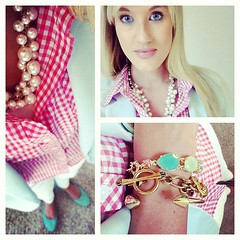 Love #gingham too much! #ootd #wiw #instastyle #instafashion #girlygirl