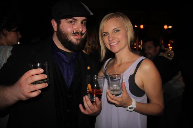 Bartender Jordan Gold and Tricia Carr by Caroline on Crack