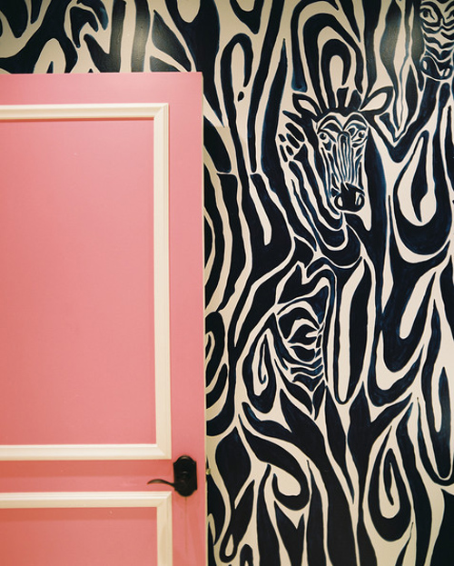 Doors+Zebra+print+wallpaper+layered+behind+0rKIgZbsshtl