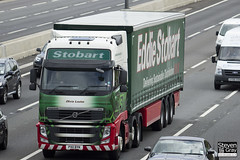 Volvo FH 6x2 Tractor - PX11 BYK - Olivia Louise - Eddie Stobart - M1 J10 Luton - Steven Gray - IMG_9000