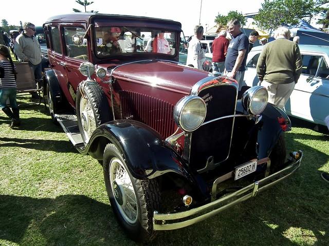 Ab B Z on 1929 Dodge Sedan