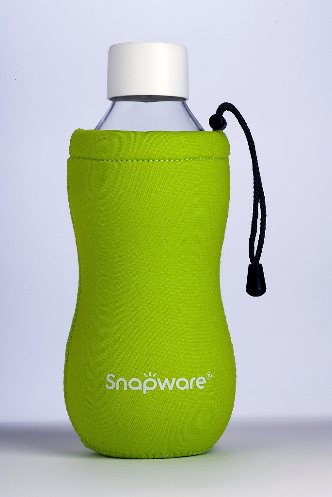 SNAPWARE Eco Grip Green Bottle
