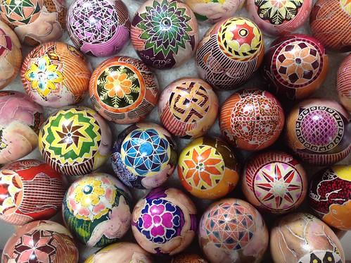 彩蛋绘画简单图案