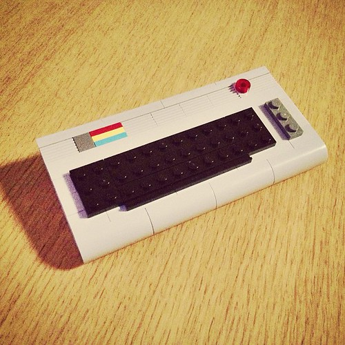 155/365: C64 #commadore #c64 #lego #powerpig #chrismcveigh #photoaday #365 #2013 #hami365