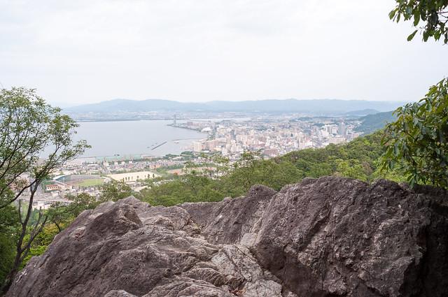 千石岩からの景色