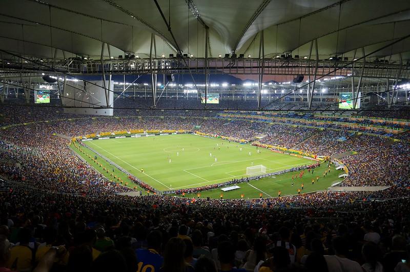 Maracana Stadium During The Confederations Cup