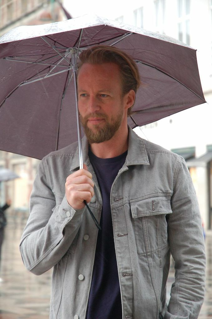 Martin in the Copenhagen rain 4