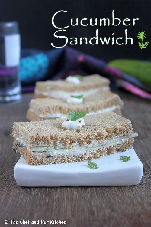 cucumber sandwich | easy sandwich recipes