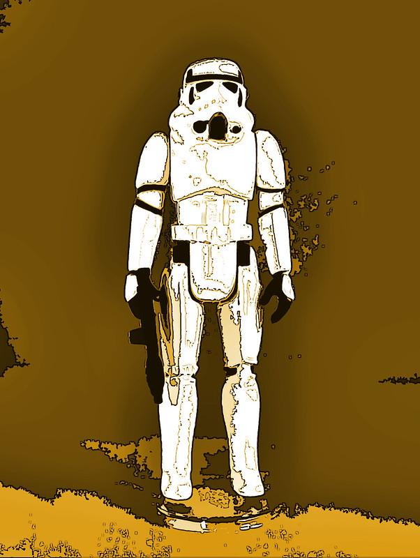 psybertech's Star Wars Figures Artwork Limelight 9110983480_22ce31355e_c