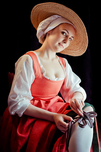 Me in renaissance flemish costume