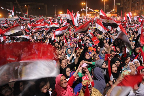 Tahrir Square Party