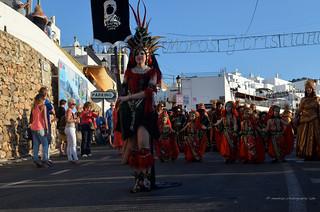 Fiesta de moros y cristianos /Mojacar 2013/ Almeria/Spain