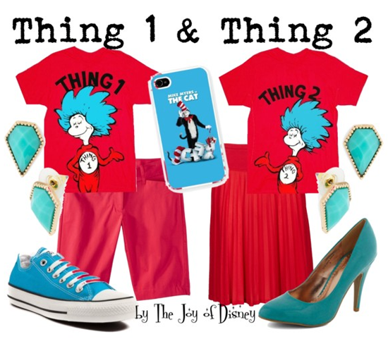 Thing 1 and 2 (Dr. Seuss)