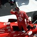 Scott Dixon celebrates his victory in Pocono