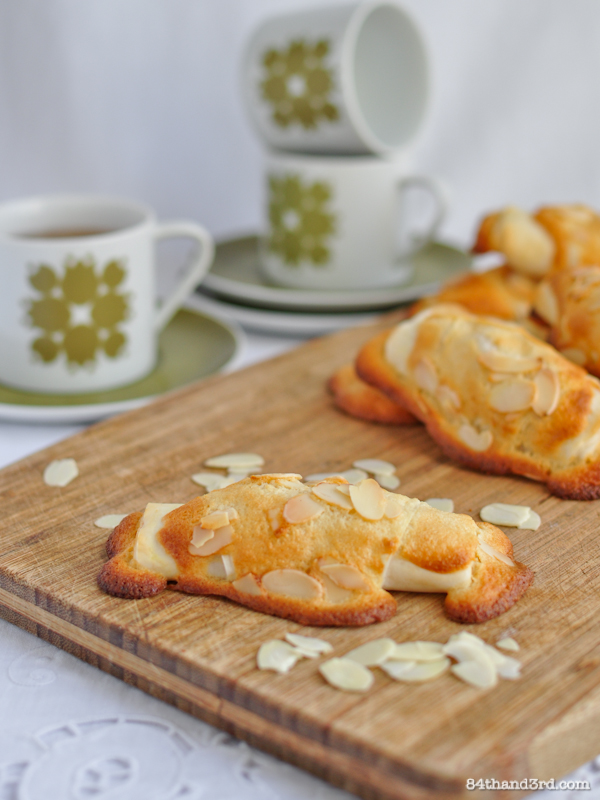 Almond Croissants makeover
