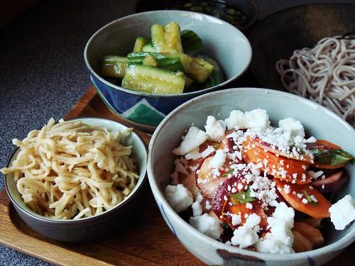 Summer Night Japanese Meal