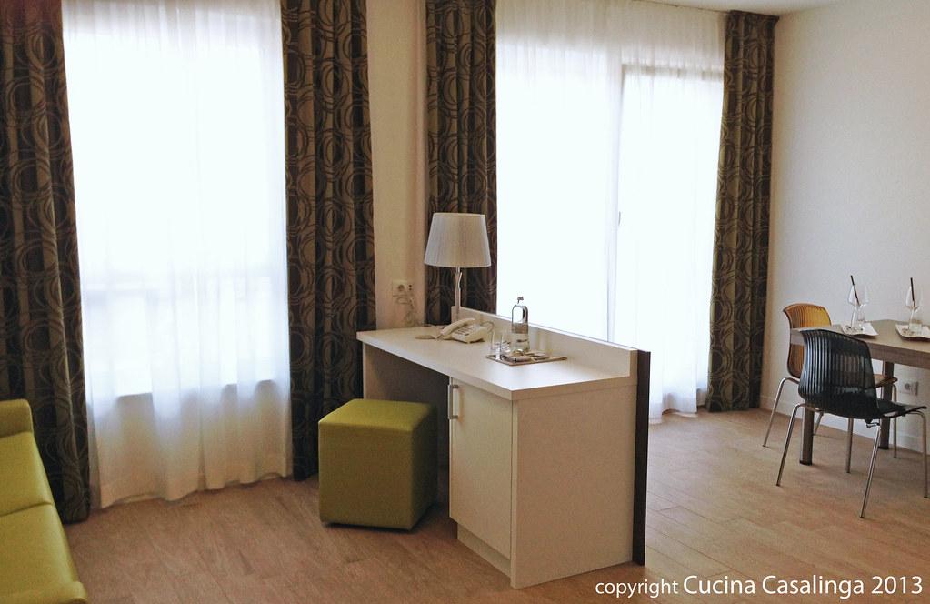 City Hotel Meran - Wohnzimmer