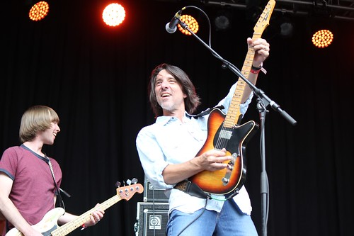 Drive-By Truckers' Matt Patton, Mike Cooley smile