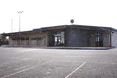 Landside of Mount Hotham Airport