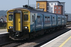 150245 Arrives at Cardiff Central