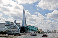 Modern Southbank - City Hall & The Shard (Canon EOS 7D & Sigma 18-35mm F1.8)