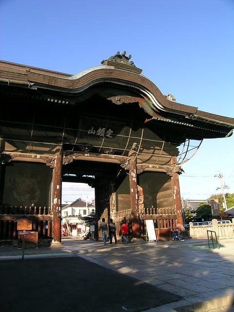Gate of Zenkoji, Nagano
