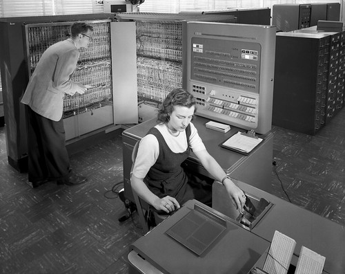 IBM Electronic Data Processing Machine | by NASA on The Commons