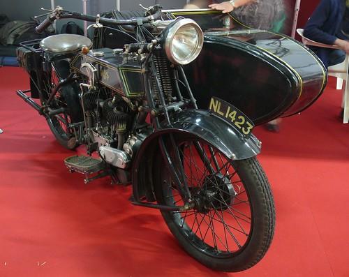AJS K2 1928 800 cm³ sv V2 Gespann vr