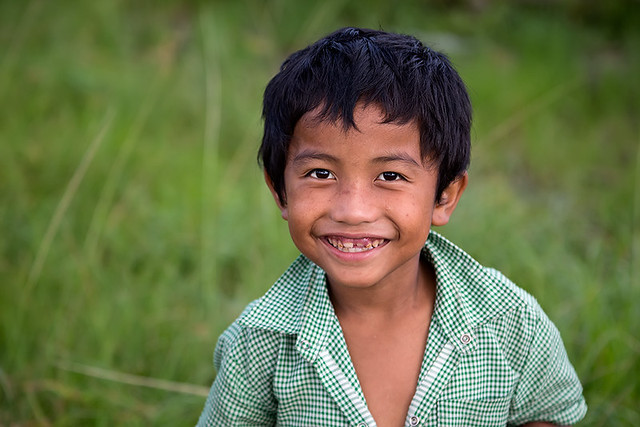 Portrait of a smiling boy in Cherrapunjee, Meghalaya.