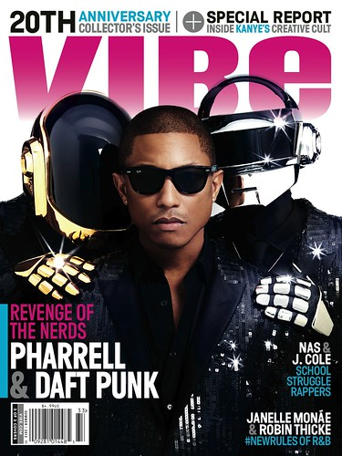PHARRELL & DAFT PUNK VIBE MAGAZINE COVER