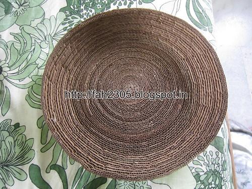 Handmade - Cardboard Bowl (6) by fah2305