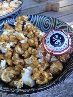 Caramel Corn with Garam Masala