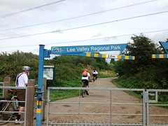 #PedalOnUK - into the Lee Valley1