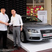 Small photo of Mr. Kevin Tan with Audi MOA signing