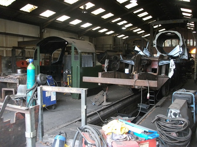 Ropley shed interior 001