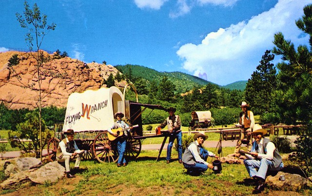 Flying W Ranch Chuckwagon Suppers Colorado Springs Co