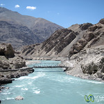 Indus River Near Alchi Monastery - Ladakh, India